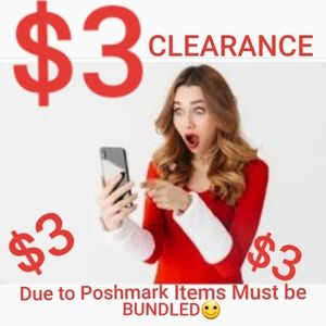 $3 & $5 CLEARANCE INFORMATION